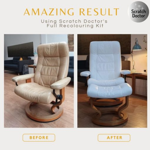Amazing Result with Scratch Doctor's Full Recolouring Kit