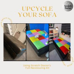Upcycle your sofa with Scratch Doctor's Full Recolouring Kit
