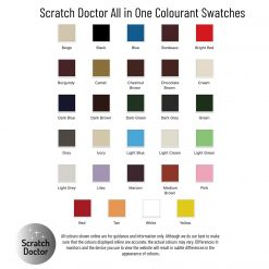 All in one colourant sample