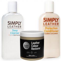 scratch doctor leather rejuvenation kit beige